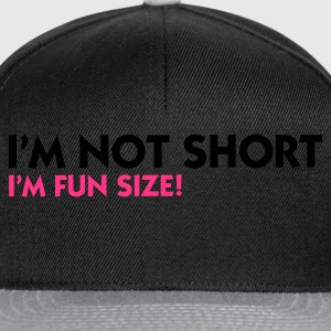 Olive I'm not short - I'm fun size (2c) Women's T-Shirts - Snapback Cap