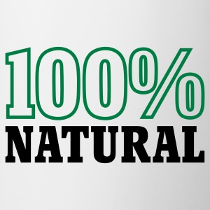 Weiß 100% Natural © T-Shirts - Mug