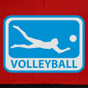 Gelb Volleyball T-Shirts - Snapback Cap