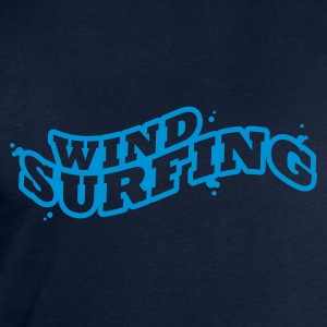 Windsuring - surfen Typo Outline T-Shirts - Men's Sweatshirt by Stanley & Stella