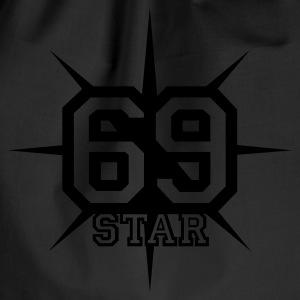 Chocolate 69 STAR © T-Shirts - Drawstring Bag