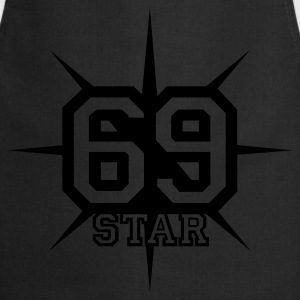 Chocolate 69 STAR © T-Shirts - Cooking Apron
