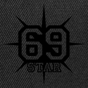 Chocolate 69 STAR © T-Shirts - Snapback Cap