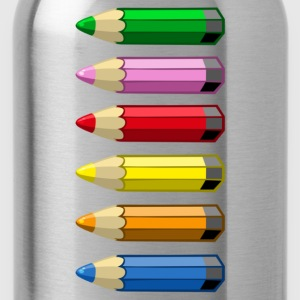 Crayons couleurs - Gourde