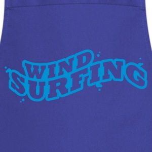 Windsuring - surfen Typo Outline T-Shirts - Cooking Apron