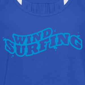 Windsuring - surfen Typo Outline T-Shirts - Women's Tank Top by Bella