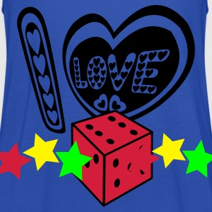 I love dices or Betting - Women's Tank Top by Bella