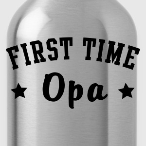 FIRST TIME Opa T-Shirt - Trinkflasche