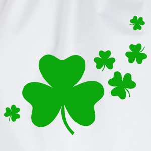 Shamrocks - Drawstring Bag