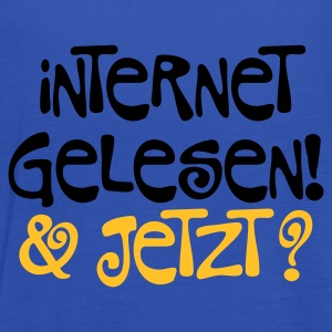 Sky Internet gelesen © T-Shirts - Women's Tank Top by Bella