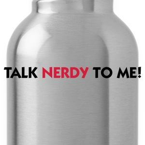 Light pink Talk Nerdy to Me (2c) T-shirts - Drikkeflaske