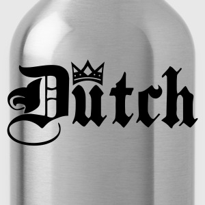 Navy Dutch with Crown T-shirts - Drinkfles