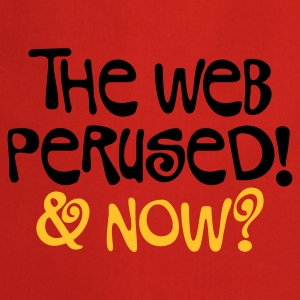 Hellrosa The web perused © T-Shirts - Cooking Apron