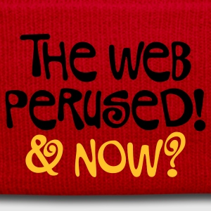 Hellrosa The web perused © T-Shirts - Winter Hat