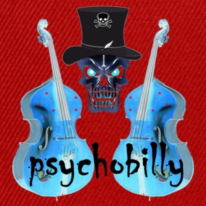 Jaune psychobilly T-shirts - Casquette snapback