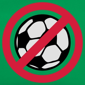 Grasgrün Anti Fussball © T-Shirts - Borsa retrò