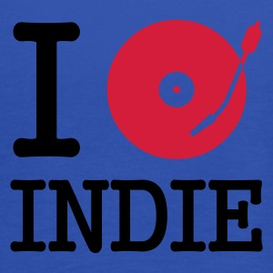 :: I dj / play / listen to indie :-: - Tank top damski Bella