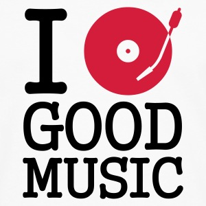:: I dj / play / listen to good music :-: - Herre premium T-shirt med lange ærmer