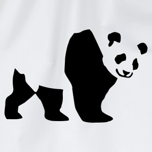 panda_1c T-Shirts - Drawstring Bag