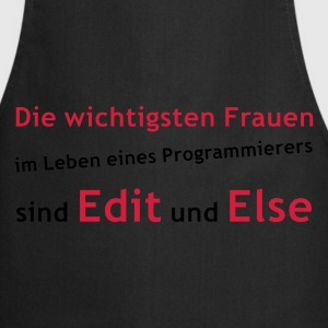 EDIT & ELSE - Kochschürze
