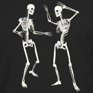 :: skeleton dance (DD) :-: - Men's Premium Longsleeve Shirt