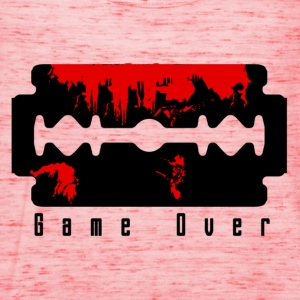 Gelb Game Over T-Shirts - Frauen Tank Top von Bella