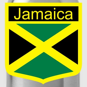 Koningsblauw jamaica_shield T-shirts - Drinkfles