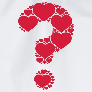 Weiß Is it Love © T-Shirts - Gymbag