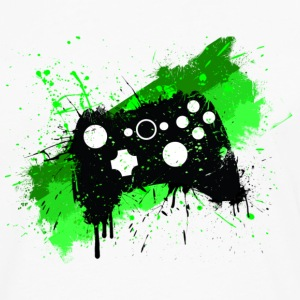 Box Graffiti Gamer T-Shirts - Men's Premium Longsleeve Shirt