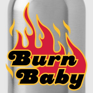 Chocolate Burn Baby © T-Shirts - Trinkflasche