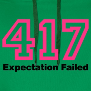 Bottlegreen Error 417 © T-Shirts - Men's Premium Hoodie