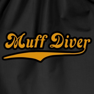 Noble brown muff_diver Women's T-Shirts - Drawstring Bag