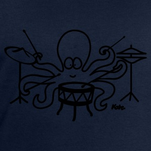 Navy Octopus  Women's T-Shirts - Men's Sweatshirt by Stanley & Stella