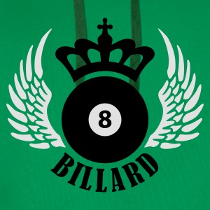 billard_eight_2c T-skjorter - Premium hettegenser for menn