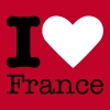 I Love France T-Shirts - Frauen Premium T-Shirt