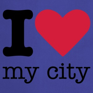 I Love My City T-Shirts - Cooking Apron
