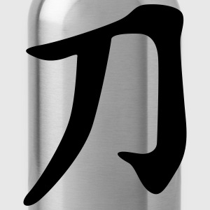 chinese_sign_sword_1c T-Shirts - Water Bottle