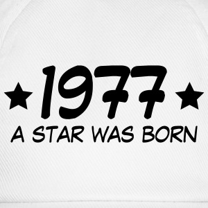 1977 - A star was born T-Shirts - Baseballkappe