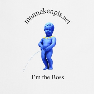 Manneken Pis I'M THE BOSS - Tablier de cuisine