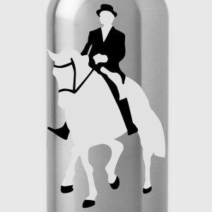 Dressage, Dressage Rider, Horse Men's T-Shirts - Water Bottle