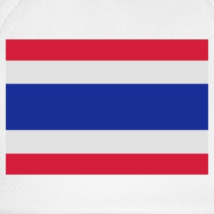 Sand beige Flag of Thailand Men's T-Shirts - Baseball Cap