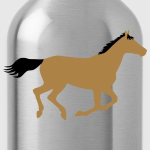 Horse Pony Riding Rider Men's T-Shirts - Water Bottle