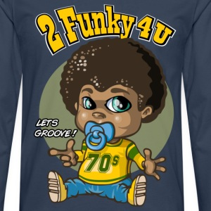 Funky baby - T-shirt manches longues Premium Homme