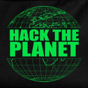 Hack The Planet T-Shirts - Kids' Backpack
