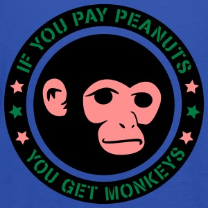 PAY PEANUTS T-Shirts - Women's Tank Top by Bella
