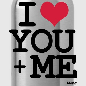 i love you plus me by wam Camisetas - Cantimplora