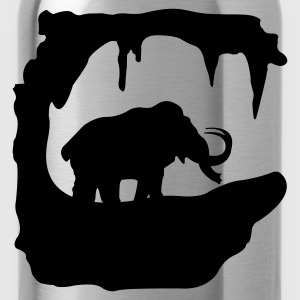 Prehistoric Ice Age mammoth elephant Kids' Shirts - Water Bottle