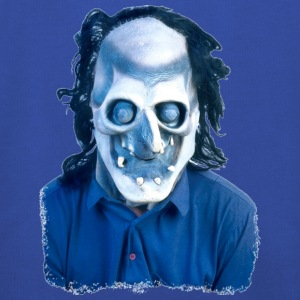 Royal blue Halloween Scary Head 15 Men's T-Shirts - Kids' Premium Hoodie