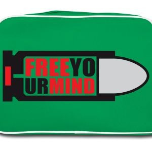 Free your Mind | Bullet | Patrone T-Shirts - Retro Tasche