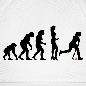 evolution_hockey_woman_a_2c T-Shirts - Baseball Cap